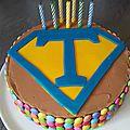 2014 : Rainbowcake ganache montée à la pralinoise