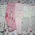 5 (4 paires de collants 6 mois)