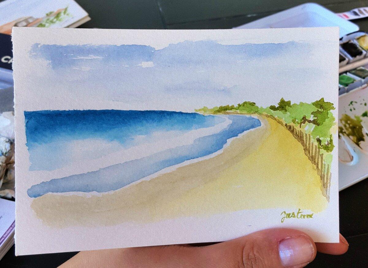 la plage des prises
