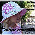 Session 2 des chapeaux