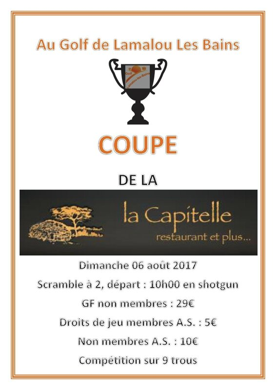 Coupe de La Capitelle