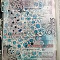 Bible art journaling - luc 8-18