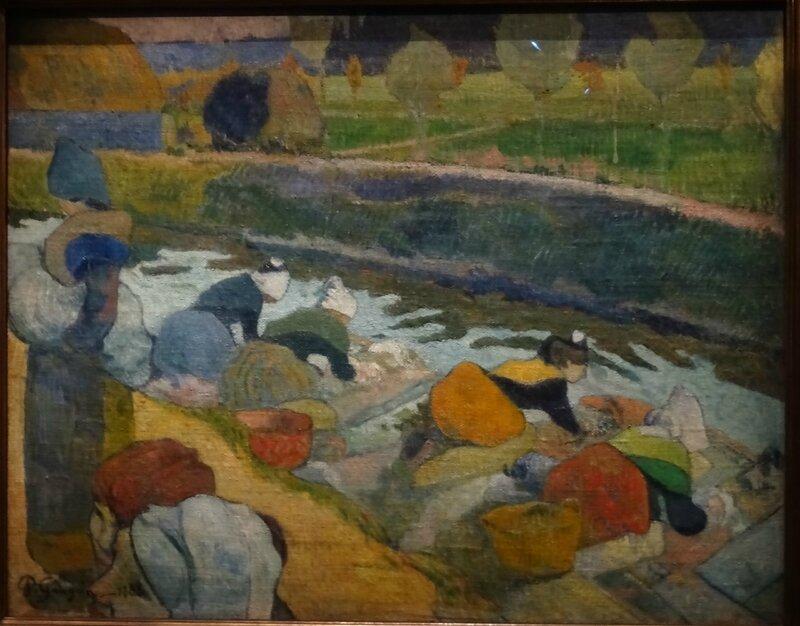Gauguin Les Lavandières à Pont Aven 1886