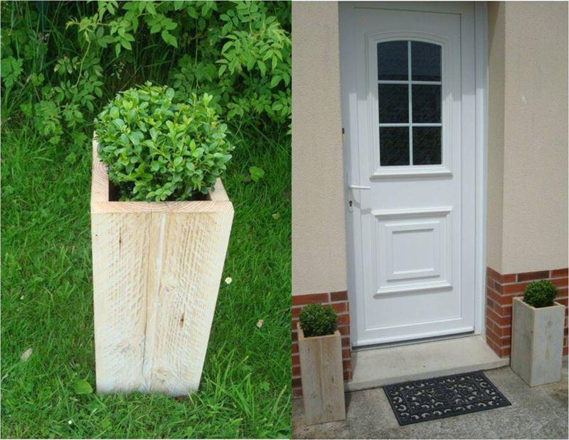 diy d co jardin faire un cache pot pour une boule de. Black Bedroom Furniture Sets. Home Design Ideas