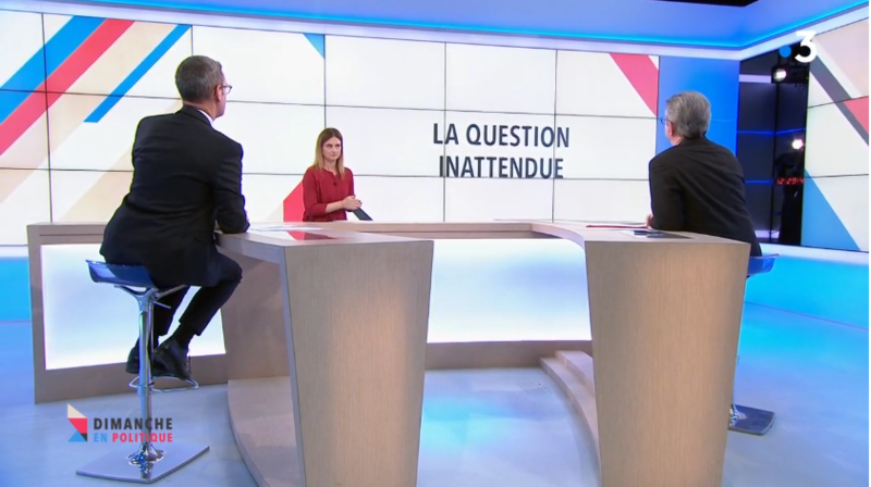 QUESTION INATTENDUE MELENCHON MEDIA DIXIT WORLD