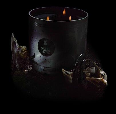 philippe di meo bougie de nuit sang noir
