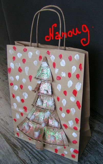 sac craft sapin gobelet
