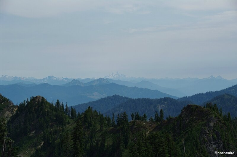 Mount Rainier view from Mount Baker