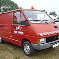 Renault trafic t800 centre de première intervention pompiers