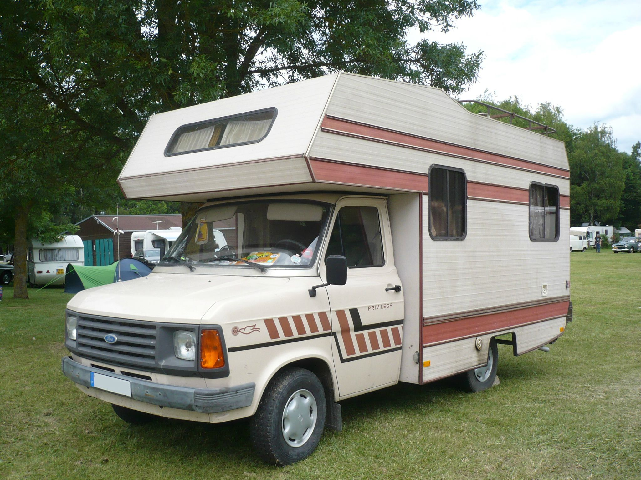 FORD Transit Mk2 camping car Messager Madine (1)