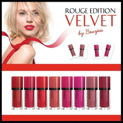 bourjois rouge edition velvet 1