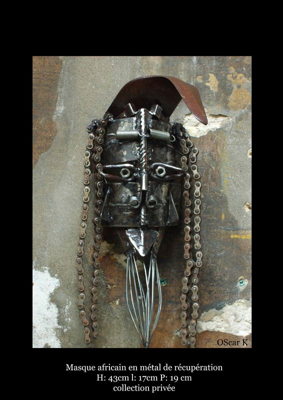 masque africain ( collection personnelle )