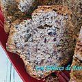 Cake moelleux banane chocolat & rhum