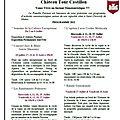 Le chateau tour castillon vous propose sont nouveau programme 2012
