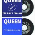 Queen You don't fool me cd's promo France