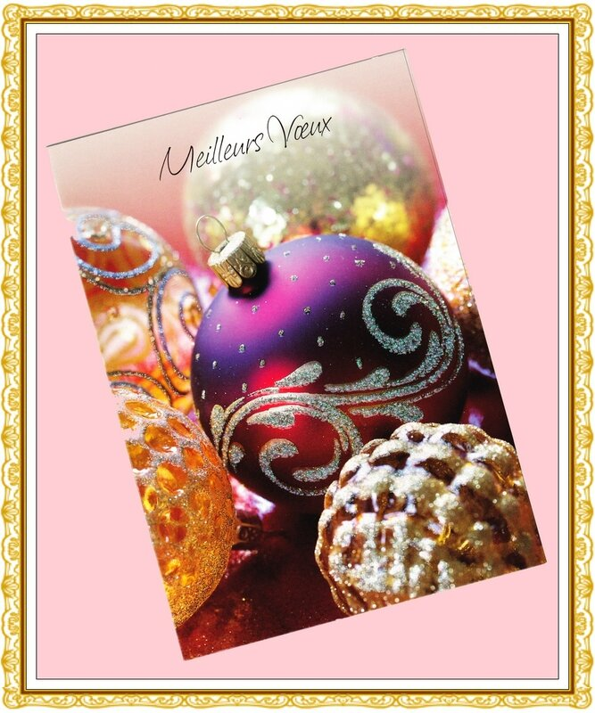 Carte Vœux Christine 2013