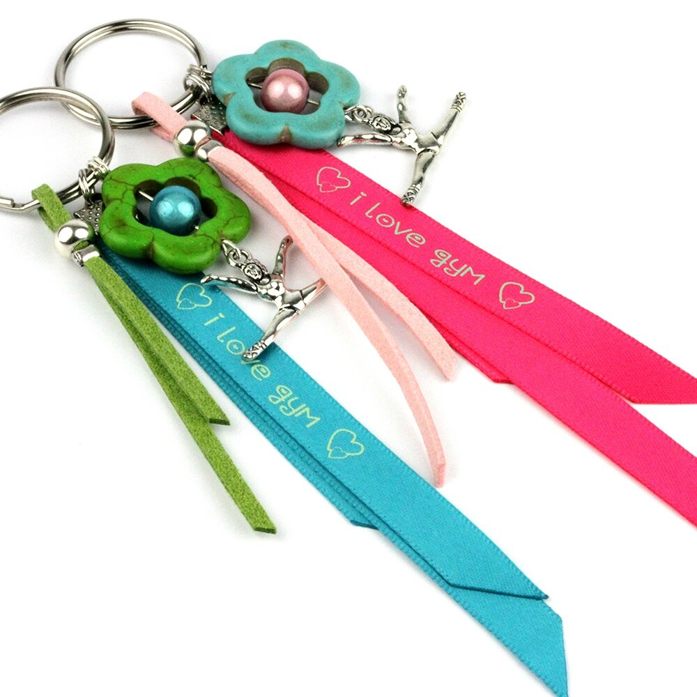 porte cles gym rose-turquoise 2