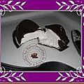 Des meringues au chocolat pour ne pas dire le vrai nom d'autrefois !!