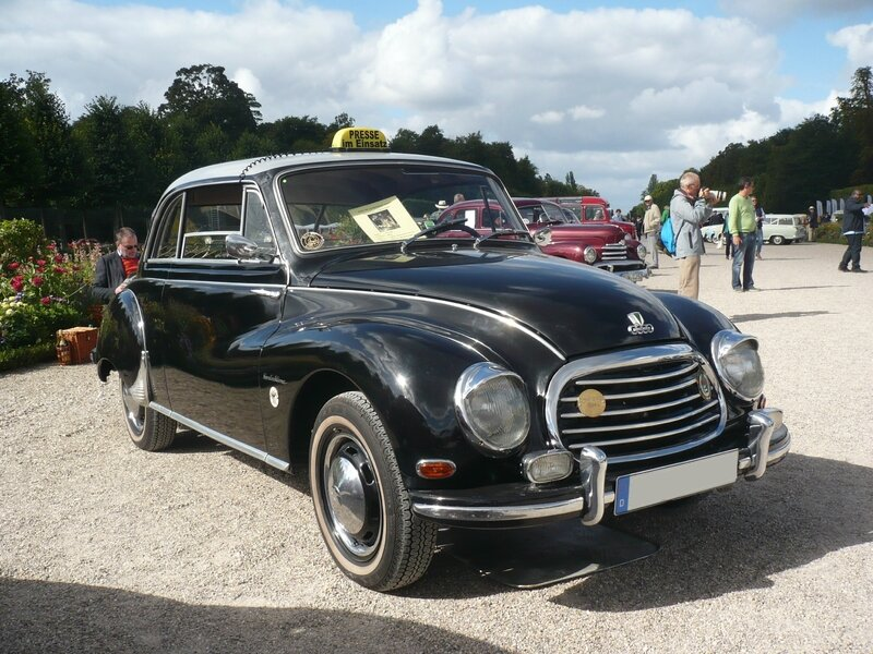 DKW F93 Sonderklasse coupé 1956 Schwetzingen (1)