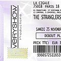 The stranglers - samedi 25 novembre 2017 - cigale (paris)