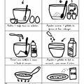 Une recette de crêpes illustrée