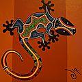 Gecko aborigène