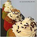 Carrot cake ou cupcake