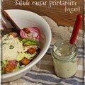 Battle food #30 . salade caesar printanière .