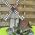 Réalisation d'un moulin à vent médiéval inspirations TableTop Wo