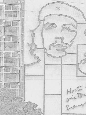 Cuba La Havane Vedado Place de la Revolution