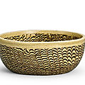 A marbled bowl, song dynasty (960-1279)