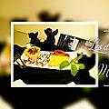 Crème au nougats tendres d' elisabeth candille. nougats (arnaud-soubeyran artisan confiseur depuis 1837 de montélimar).