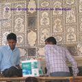 Restauration des mosaïques