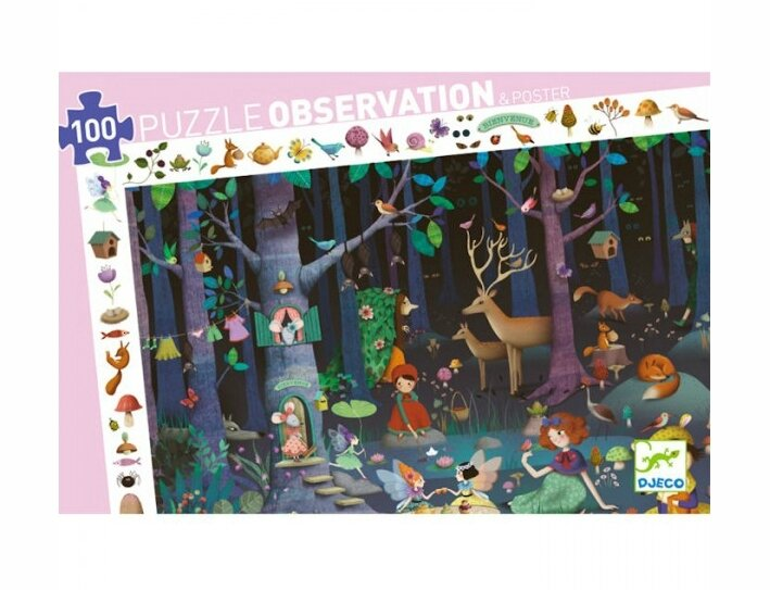 puzzle-observation-foret-enchantee-100-pcs-djeco-djo7504-2
