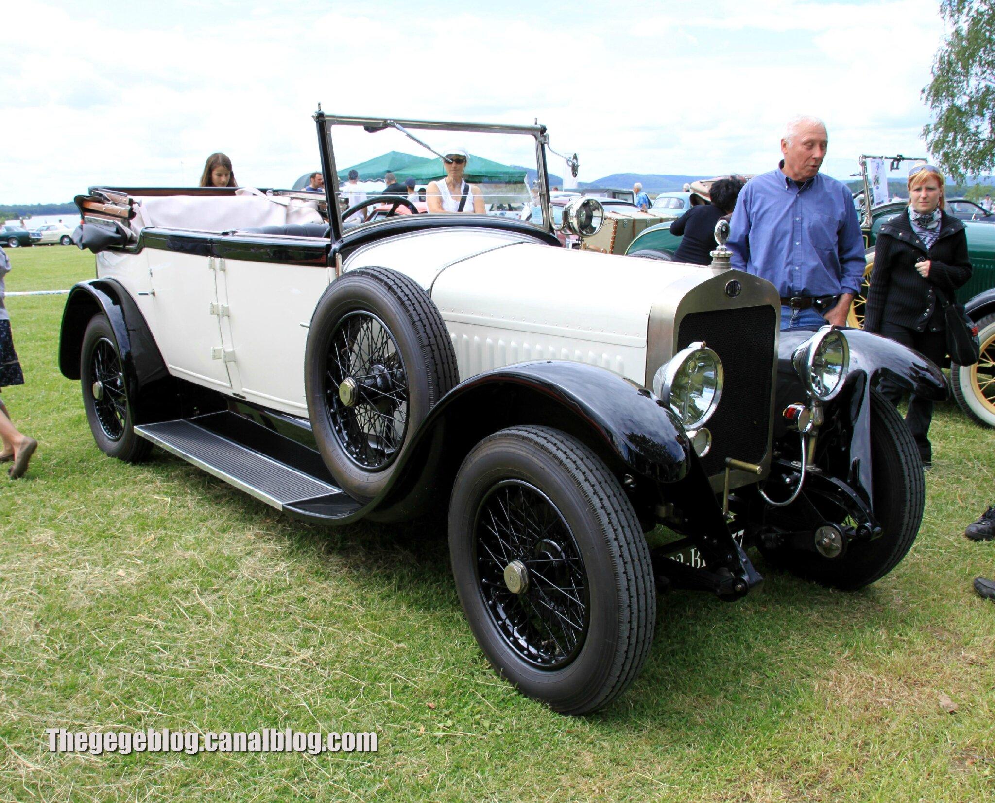 Delage type DI transformable de 1922 (Retro Meus Auto Madine 2012) 01