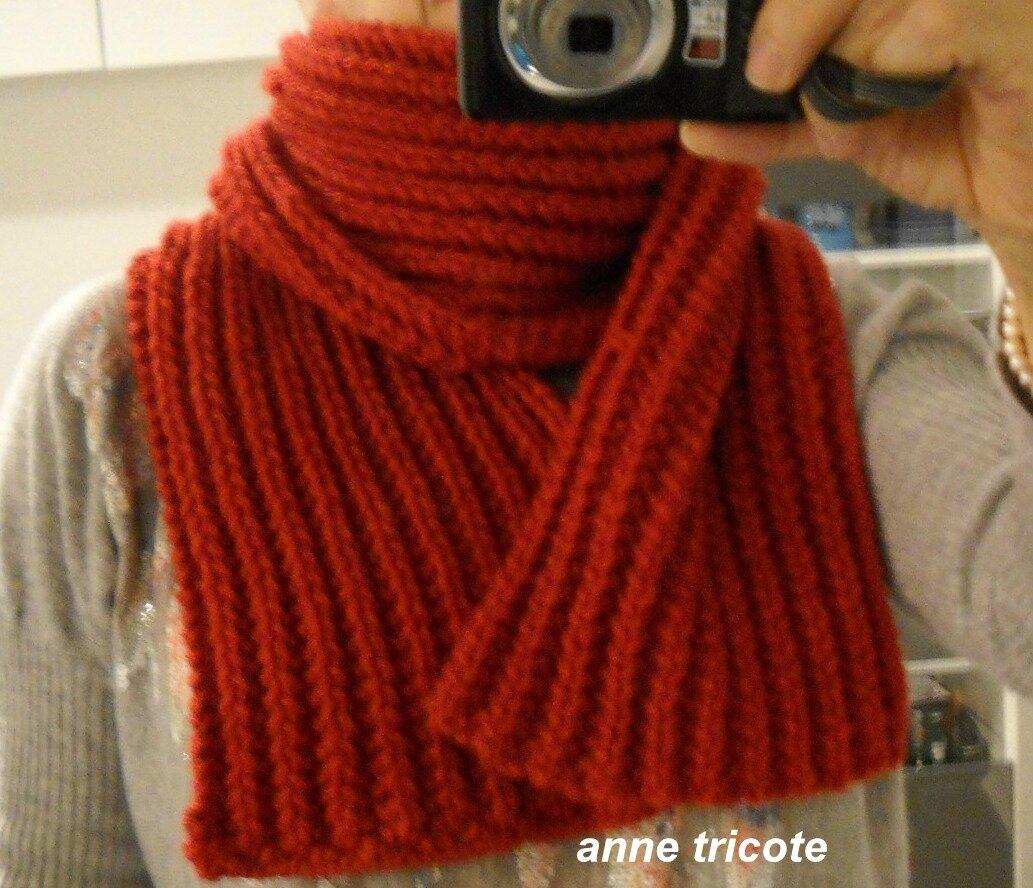 8104887f2a4 Tricoter une echarpe en laine - Laine et tricot