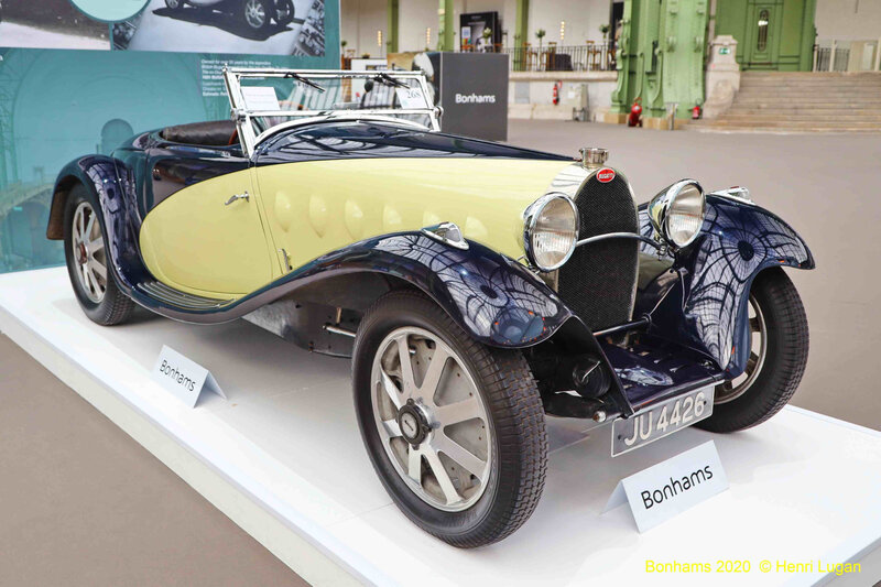Bugatti 55 Supersport Figoni #55221 - 1932
