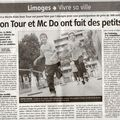 Les kids du mc do iron tour