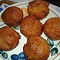Muffins à la chicorée sans gluten