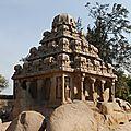temple à Mahabalipuram