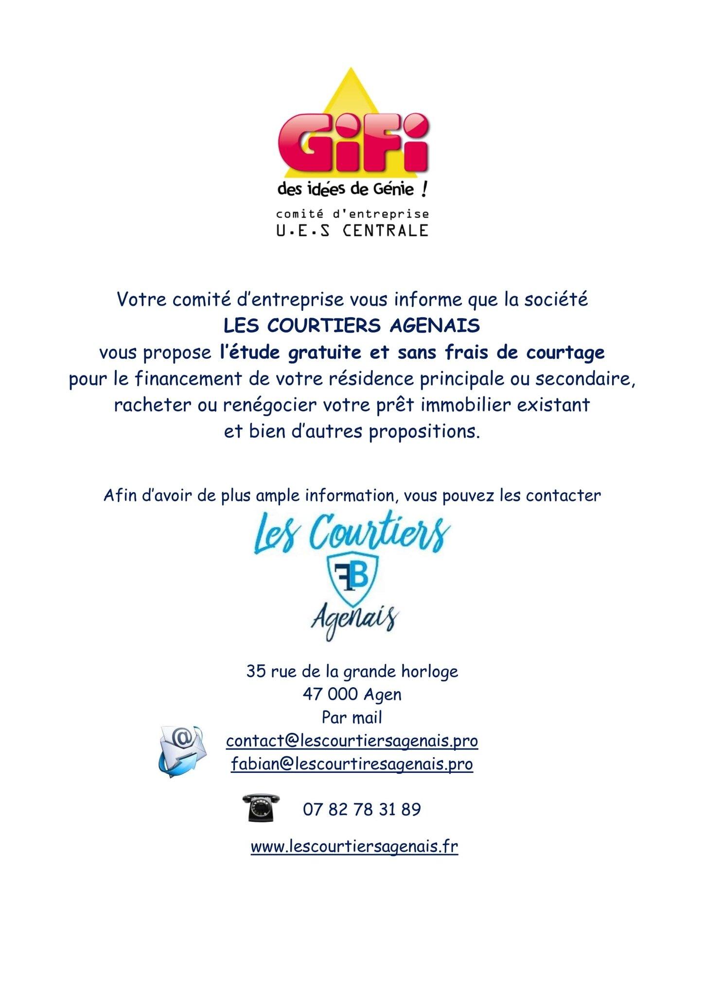 Les Courtiers Agenais 35 Rue De La Grande Horloge 47000