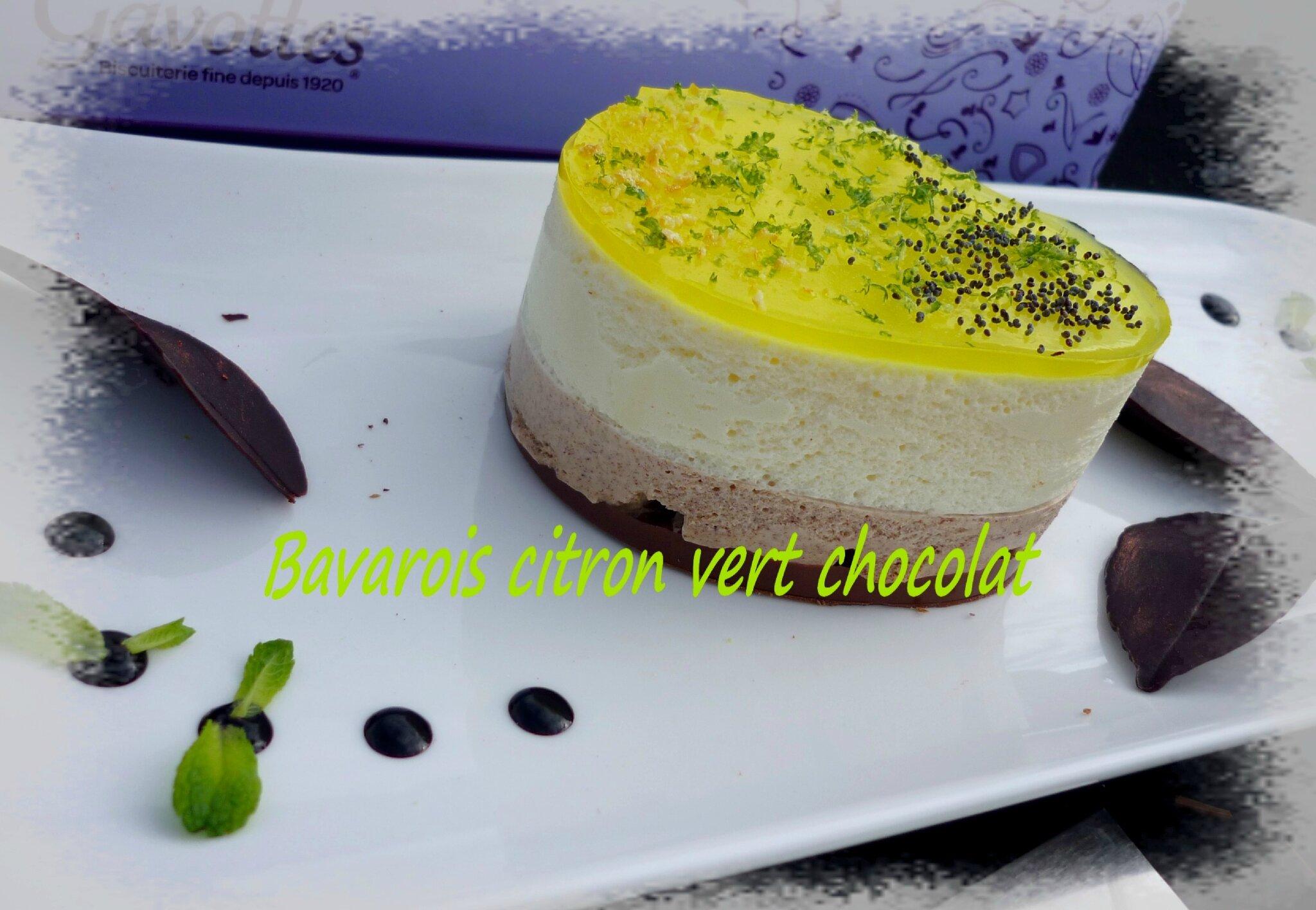 Bavarois citron vert (3)