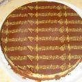 Gâteau musique : Un tiramisu aux myrtilles