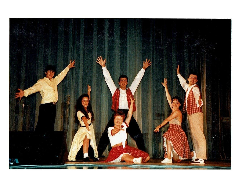 Ecole de danse lets Dance pour l'ouverture du spectacle