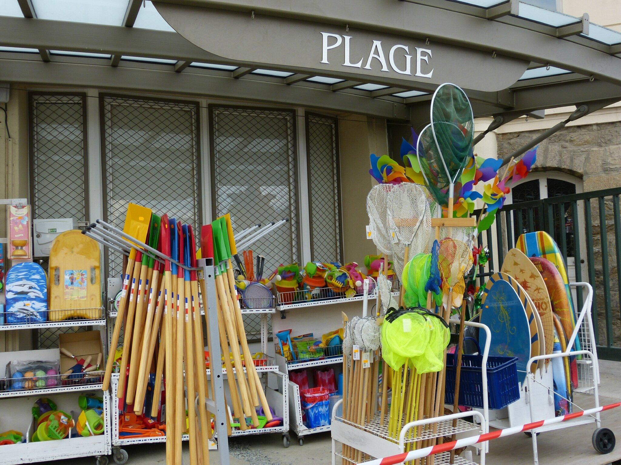 La Boutique de la plage, DINARD 2013