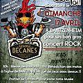 Concert rock la grange a becanes 2016 bantzenheim