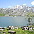 Lac d'Estaens, rive Est (Espagne)