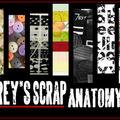 Grey's scrap anatomy - défi 7 + challenge 17 sts mars