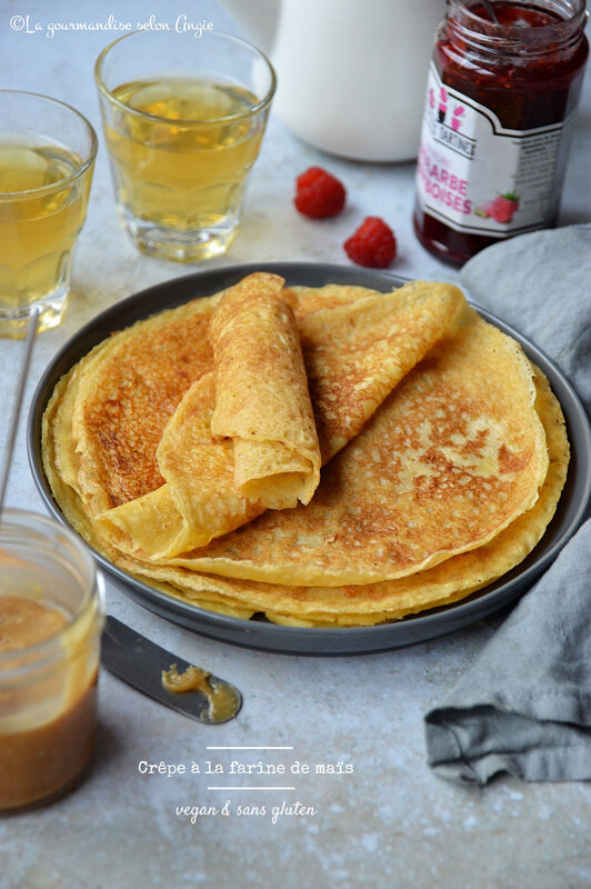 crêpe vegan sans gluten maIs facile avec 3 ingrédients (2)