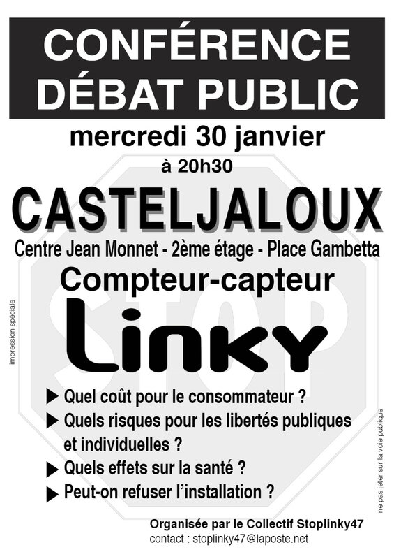 Conférence Casteljaloux